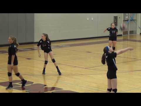 """09/13/2016 C'Ville Middle """"A"""" Team vs Elmore Park Middle School Volleyball"""