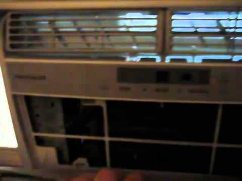 Cleaning The Inside Of My Frigidaire Air Conditioner - YouTube on