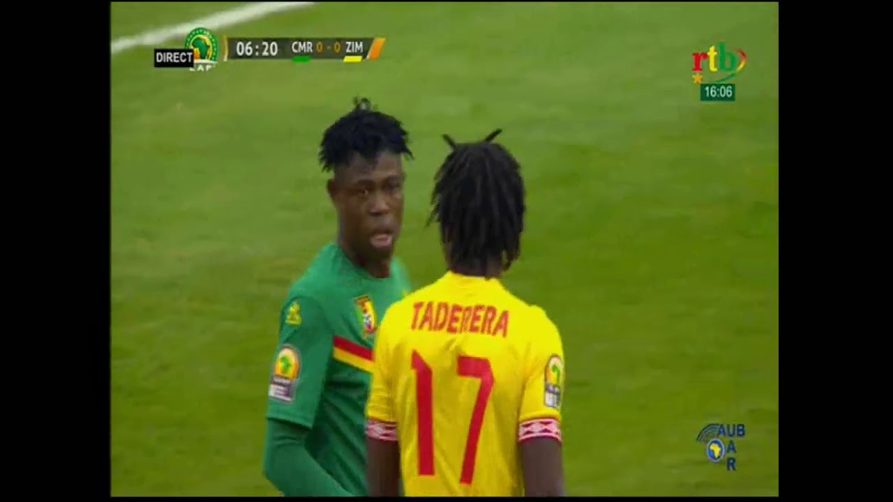 Rtb - Match d'ouverture CHAN 2021: Cameroun vs Zimbabwe