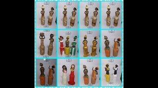 Gambar cover Bonecas afro de biscuit na garrafa