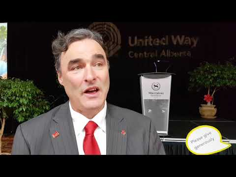 United Way Central Alberta - Robert Mitchell