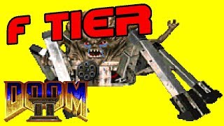 Doom II Nightmare! Monster Tier List (ft. Peter)