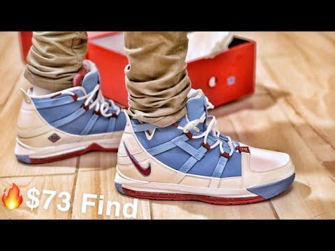 Nike LeBron 3 Houston Oilers (2019
