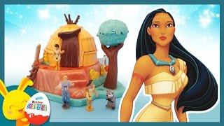 Pocahontas - Princesse Disney - Jouet Polly Pocket et l'histoire pour les enfants - Touni Toys