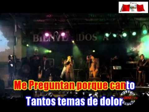AGUA MARINA - CANTO HERIDO (CV_HD)_ DEMO  KARAOKE  - CHICLAYO - 2012