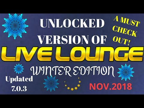 How to get and use a UNLOCKED LIVE LOUNGE 7 0 3 WINTER EDITION(working)