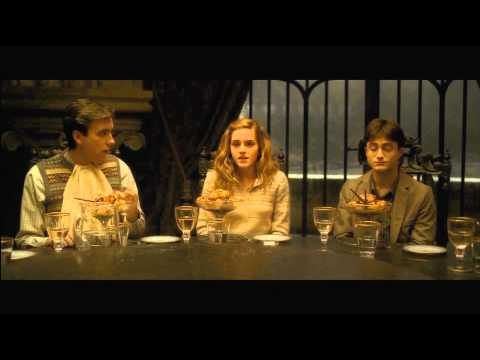 Slughorn's Dinner  Harry Potter and the HalfBlood Prince HD
