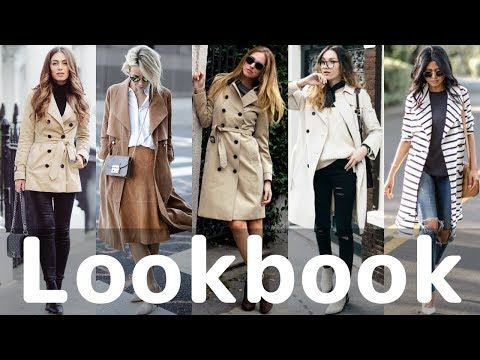 How To Wear Trench Coat Outfits Fall 2017/Winter 2018 Trends