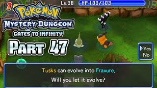Pokémon Mystery Dungeon Gates to Infinity Part 47: Evolution At Last!