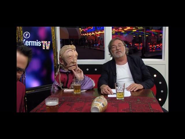 Niels van Kollenburg zingt live zijn single Waar ik voor leef