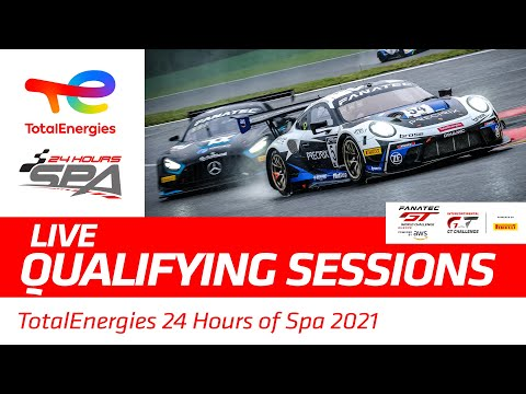 QUALIFYING - TotalEnergies 24 Hours Of Spa 2021 - ENGLISH