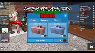 Another Legendary! 2015 Xmas Event Roblox MM2 unboxing