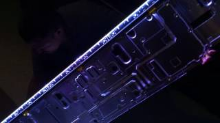parte #1 Sony XBR-65X900C 4 BLINKING LIGTH