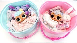 Кроватки В КОРОБКАХ Для Кукол #ЛОЛ Играем Как Мама Куклы Пупсики Игрушки IkuklaTV Deti