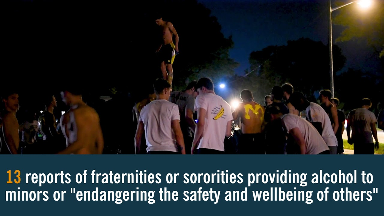 Hazing, secrecy leave University of Michigan fraternities in