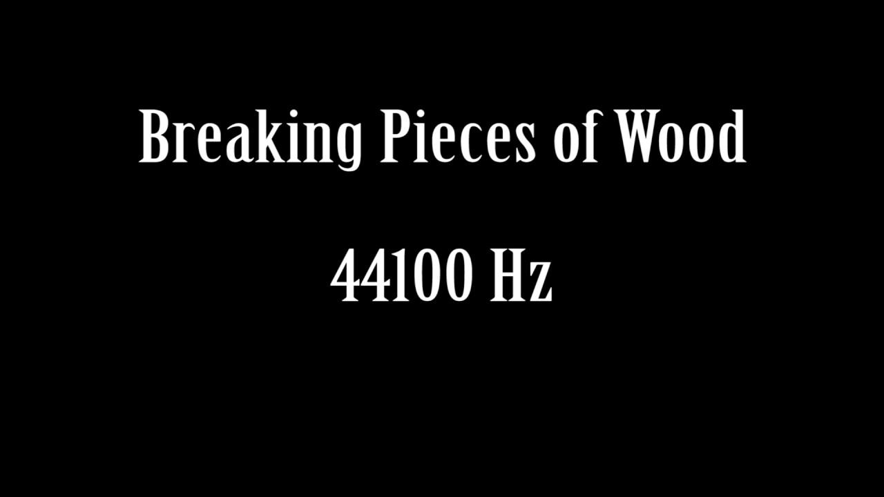 koko 7 Uutuudet klassinen tyyli Breaking Pieces of Wood Sound Effect Free High Quality Sound ...