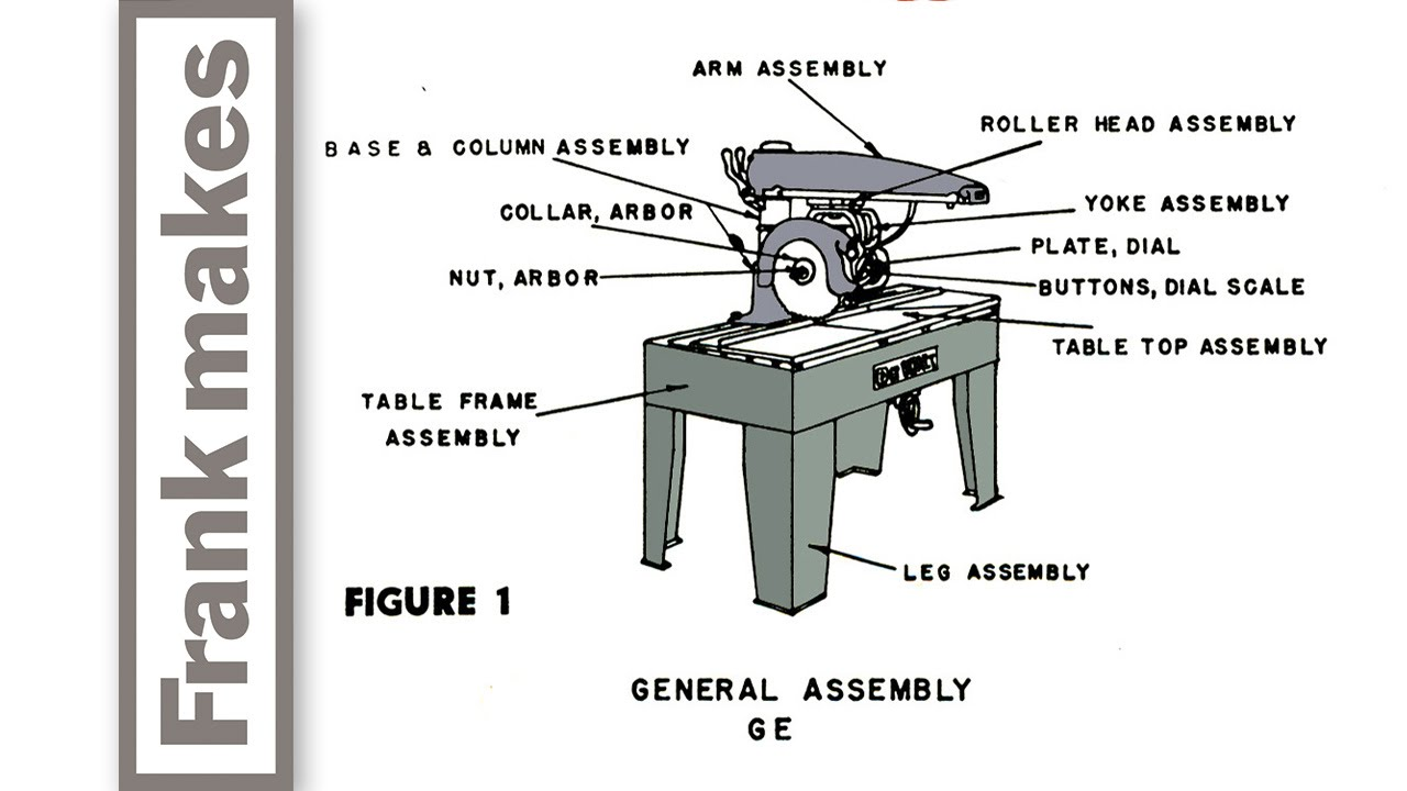 Dewalt Ge Radial Arm Saw