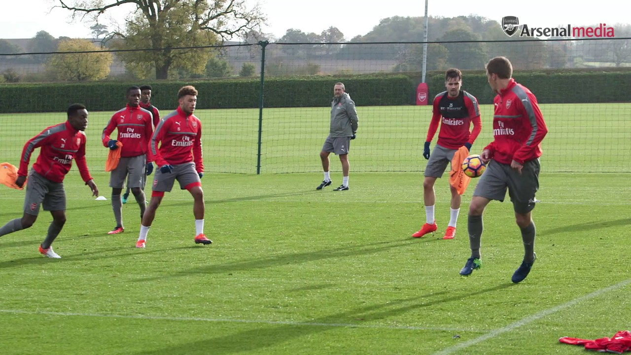 Image result for arsenal training