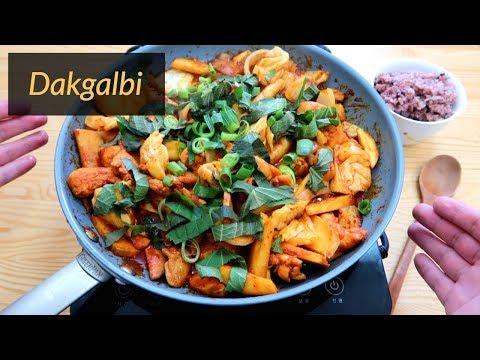 How to make Dakgalbi Chicken (Chuncheon Style!)