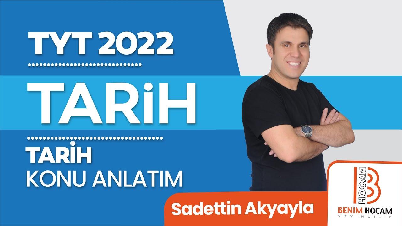 67)Sadettin AKYAYLA - Kurtuluş Savaşı Hazırlık Dönemi - I (TYT-Tarih) 2022
