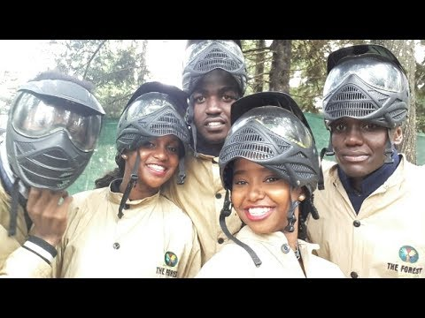 THE FOREST| ZIP LINING, PAINTBALL, LIMURU | Wabosha Maxine