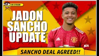 Jadon Sancho to Manchester United is imminent | Agreement made between clubs