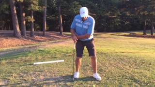 Don't try to jump! Swing Forward