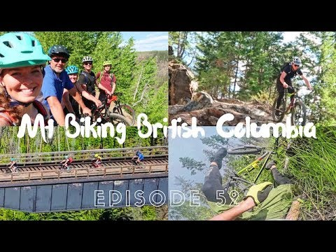 KELOWNA BC, CANADA - TUNNELS, TRESTLES AND AN EPIC WIPEOUT // EFRT EP 52