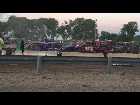 Demo derby Ravenna Nebraska part 2