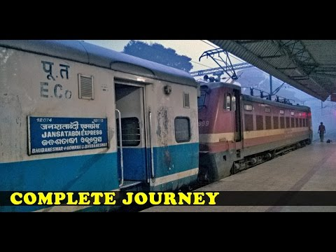 A Complete Journey : 12074 Bhubaneswar - Howrah JANSHATABDI Express (Indian Railways)