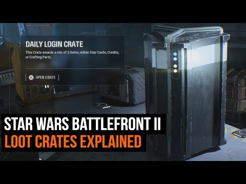 Star Wars Battlefront II's Loot Crates Explained