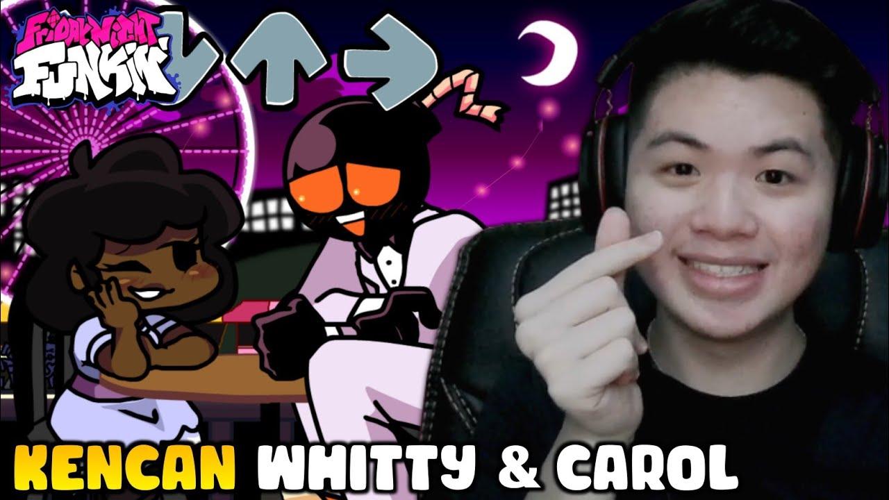 WHITTY BERKENCAN DENGAN PACARNYA CAROL!! | The Date Week - Friday Night Funkin