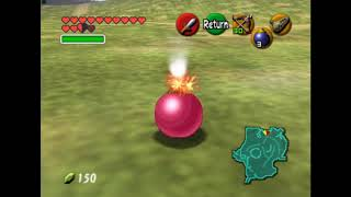 Ocarina of Time: Another Unused Bomb Blast Effect