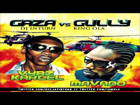 GAZA versus GULLY [Reggae/Dancehall Mixtape] 2011 via @KINGOLA