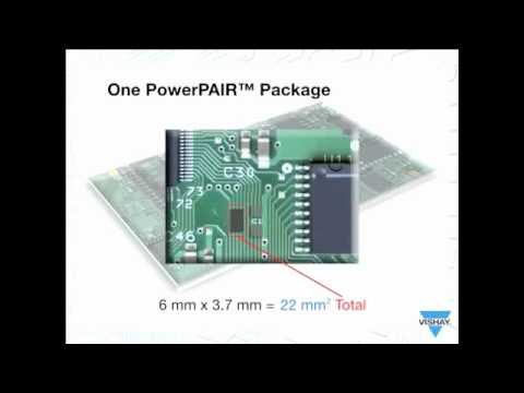 Asymmetric MOSFET Saves Space & Increases Power Density (Vishay Product Demo)