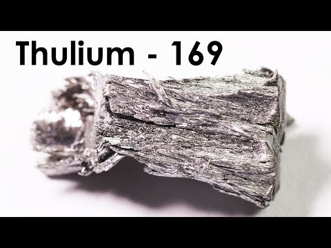 Thulium  - The RAREST AMONG THE RARE Earth Metals!