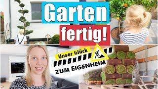 Die größte Veränderung! 🏡 | Rollrasen liegt | Garten in 3 Wochen umgebaut | Isabeau