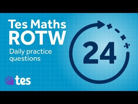 Daily maths practice: TES Maths Resource of the Week
