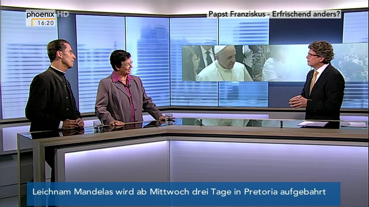 Papst Franziskus Erfrischend Anders Phoenix THEMA Am 10 12 2013
