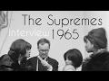 Capture de la vidéo The Supremes At Grand Gala Du Disque - Interview October, 1965 [Rare Snippet]