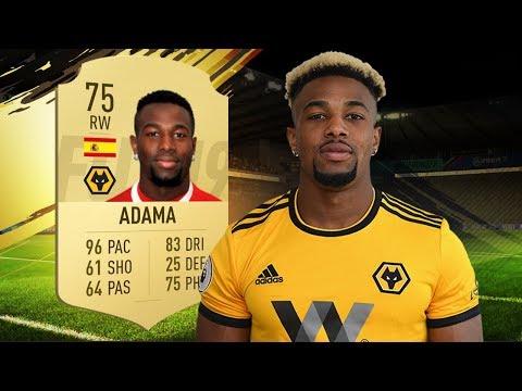 FIFA 19 Adama Review | 75 Adama Traoré Player Review | Fifa 19 Ultimate Team