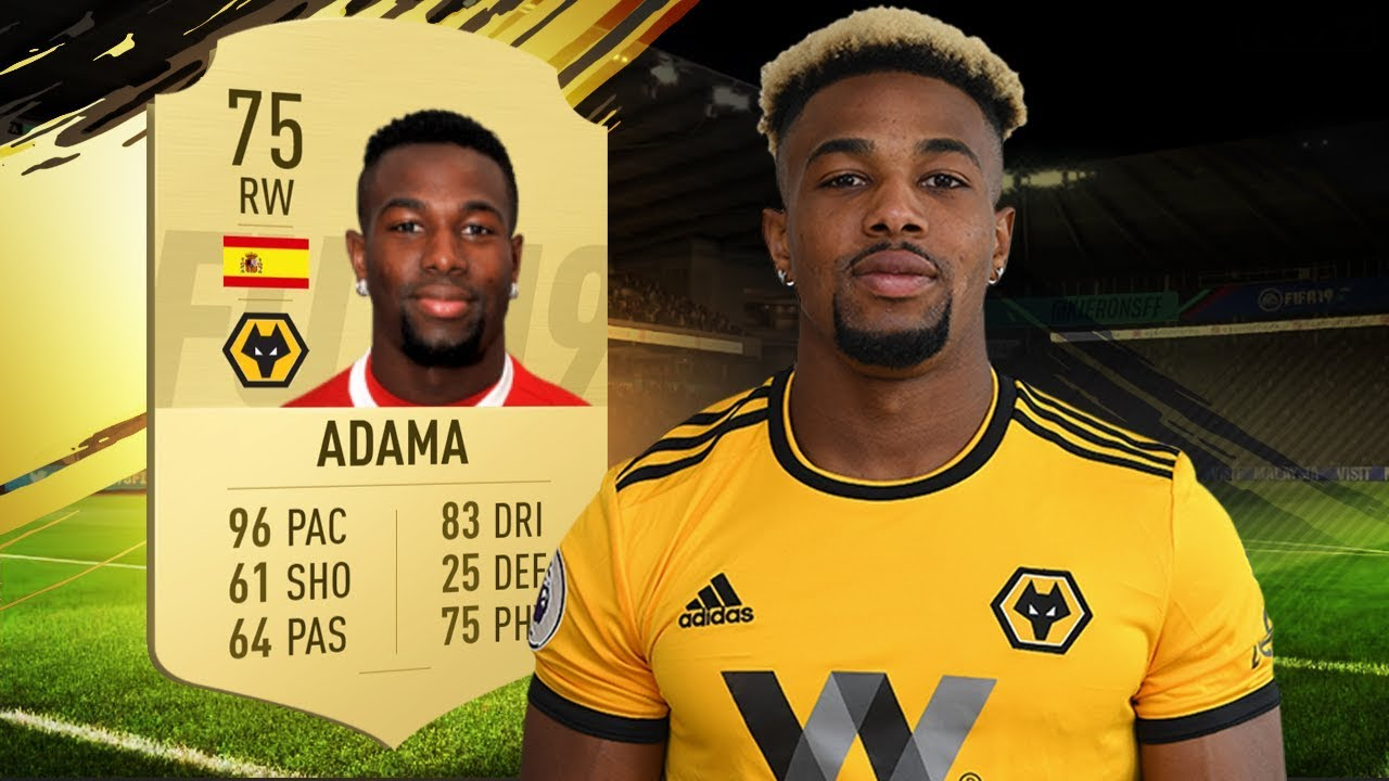 Fifa 19 Adama Review 75 Adama Traore Player Review Fifa 19 Ultimate Team Youtube