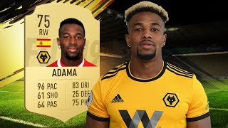 FIFA 19 Adama Review | 75 Adama Traoré Player Review | Fifa 19 Ultimate Team