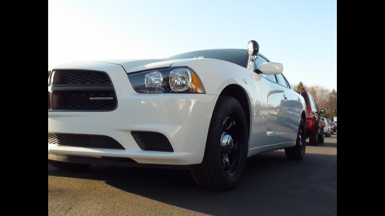 MVS 2011 Dodge Charger Pursuit Police Vehicle
