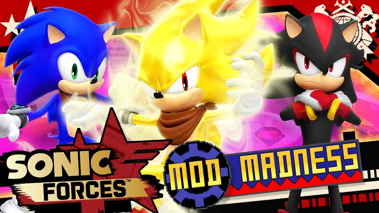 Sonic Forces Pc 4k 60fps Super Sonic Boom Boom Shadow Mod Madness Youtube