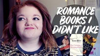 ROMANCE BOOKS I DIDN'T LIKE [CC]