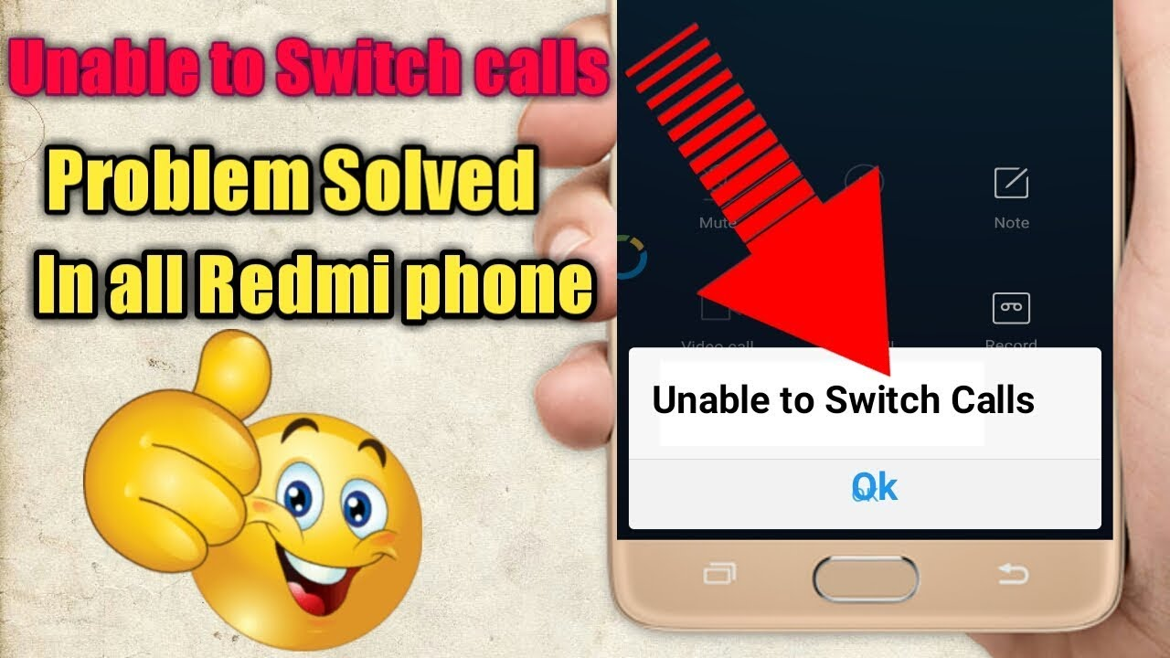 Unable to switch calls problem solved in all redmi phone. Solve hanging problem.