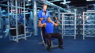 FitBrit beginner gym workout