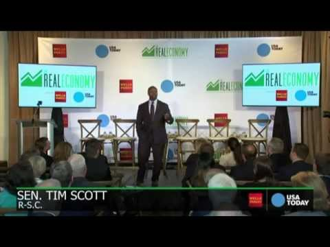 Senator Scott Speaks about South Carolina's Growing Economy