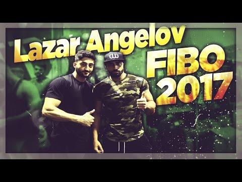 Lazar Angelov auf der FIBO 2017 - Donnerstag | Amir Ansarian